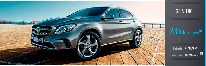 Oferta Mercedes GLA 180 con Mercedes-Benz Alternative