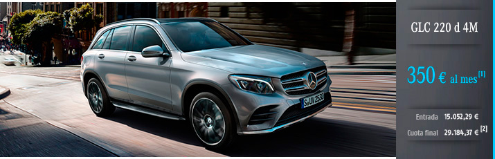 Oferta Mercedes Clase GLC 220d 4M con Mercedes-Benz Alternative